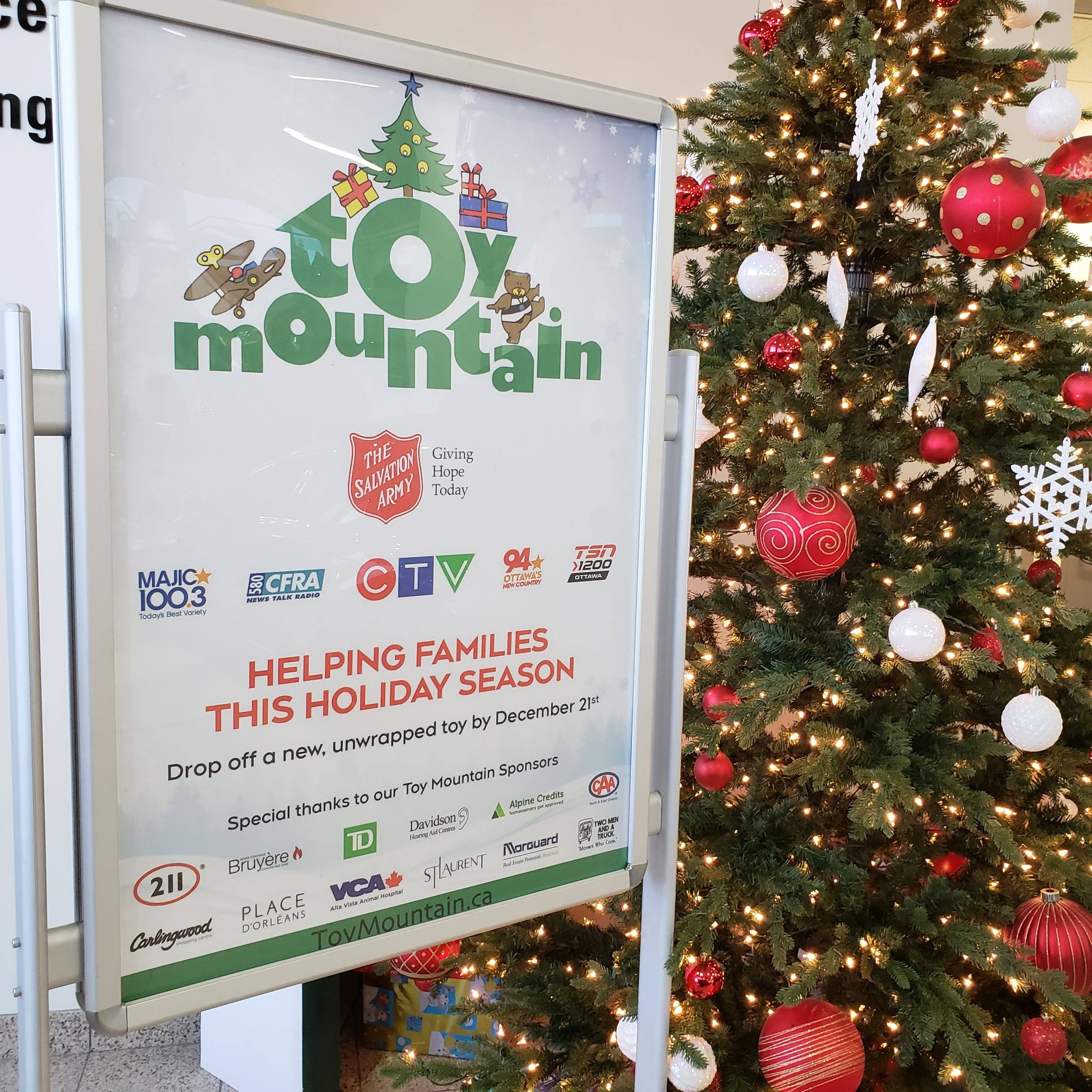 2018 Toy Mountain Campaign