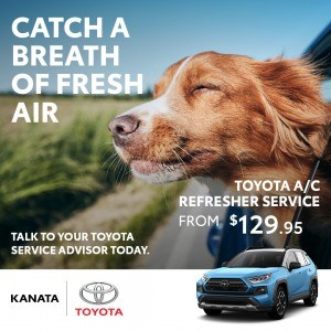 The AC Refresher service gives your car a fresh clean scent-free ordour